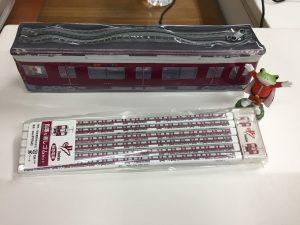 阪急電車オリジナルグッズ 阪急 9300系ペンケースセット