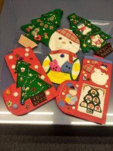 お子さんの幼稚園のクリスマスイベント用に全て手作りしたそうです! すごい!!