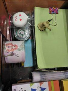 ミッキーをめくると可愛いお菓子がありました(^^)
