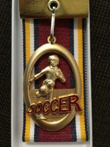あら!素敵なメダル!